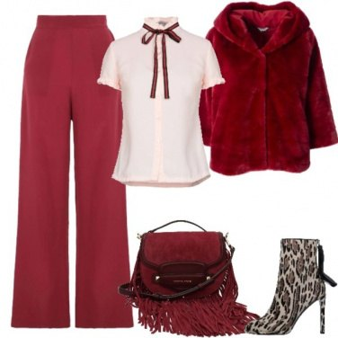 Outfit Red winter