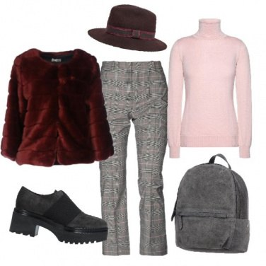 Outfit Pinkred