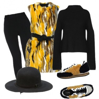 Outfit Morbida pelliccia