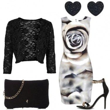 Outfit Rose per la sera