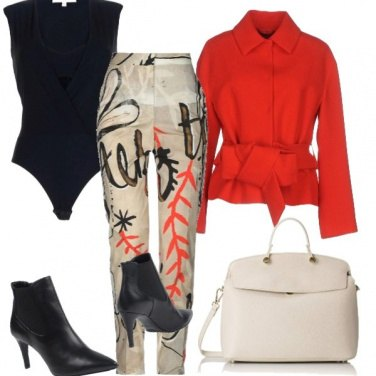 Outfit Pennellate glamour