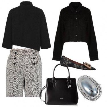 Outfit Ballerine e shorts