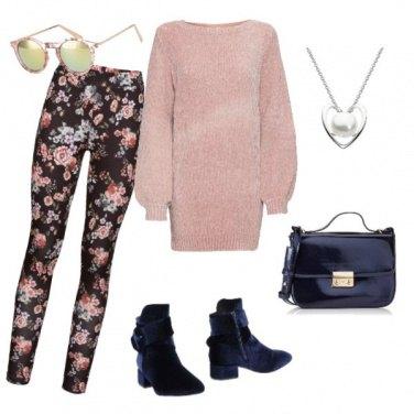 Outfit Leggings fiorati