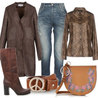 Outfit Cintura peace