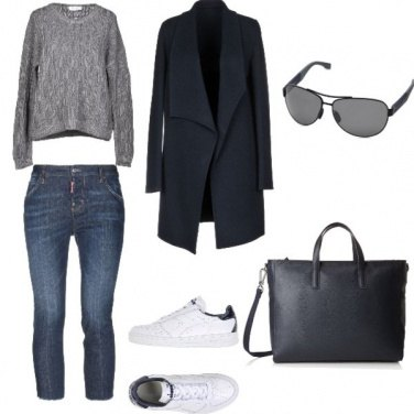 Outfit Trendy, ufficio di venerdi\'