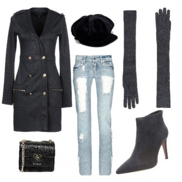 Outfit Greg gloves