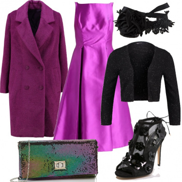 Outfit Come un\'orchidea