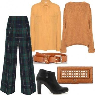 Outfit Trendy con lo scozzese