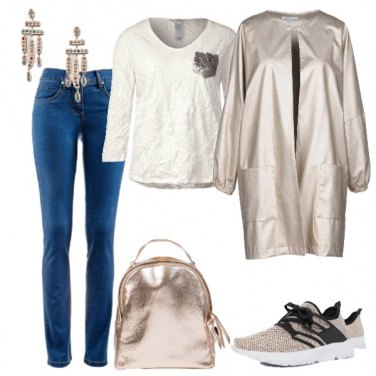 Outfit Colori metallizzati