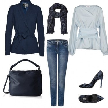 Outfit Gusto Blu