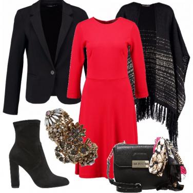 Outfit Il vestito di maglina