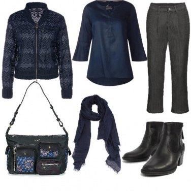 Outfit Grigi e blu