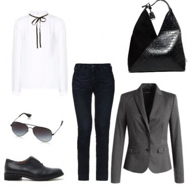 Outfit Black office