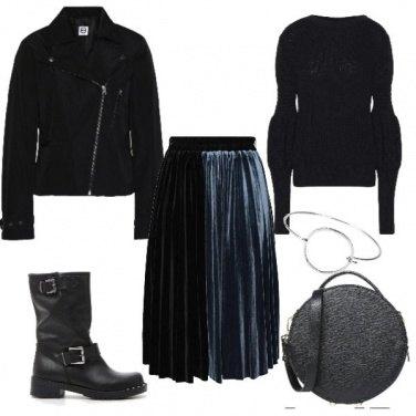 Outfit Comoda e rock