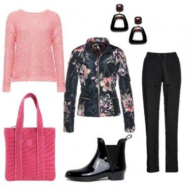 Outfit Bella e rosa