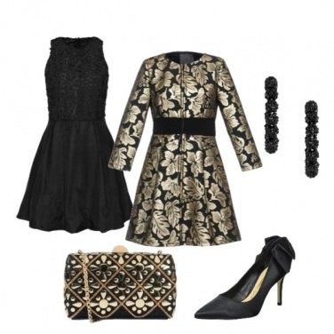 Outfit Sera dorata