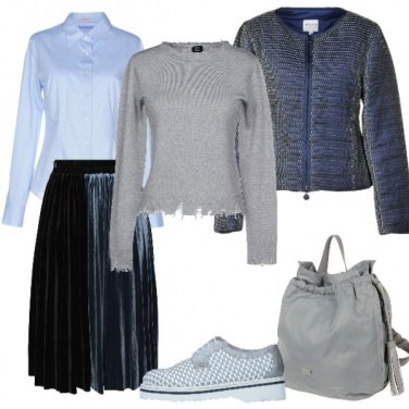 Outfit Longuette in velluto