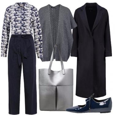 Outfit Gessato e fantasia