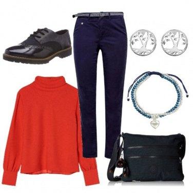 Outfit Alberi e cuore