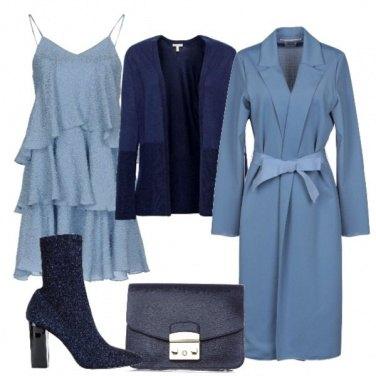 Outfit Toni di blu