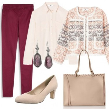 Outfit Giacca particolare