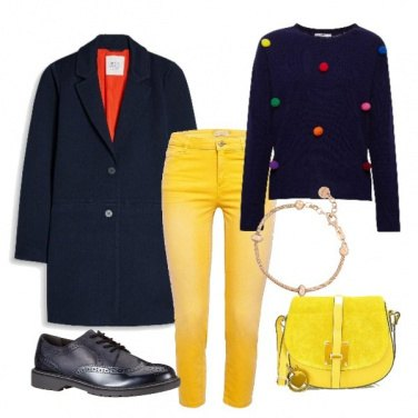 Outfit Simpatici pon-pon colorati