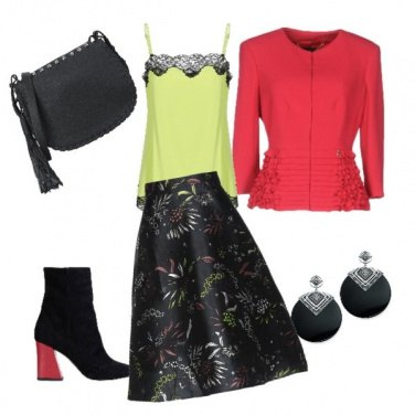 Outfit Colori decisi