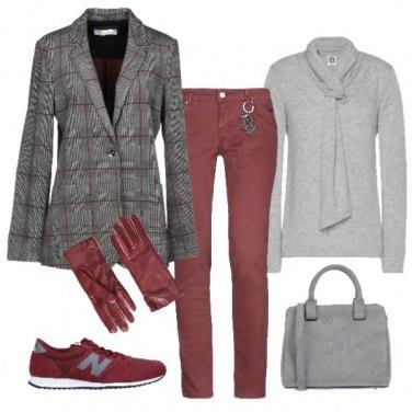 Outfit Elegante ma comoda