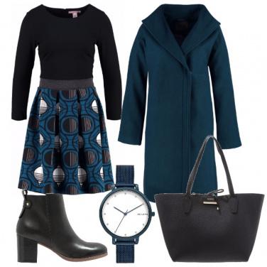 Outfit In ufficio col vestito