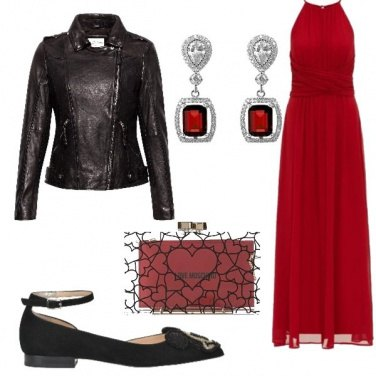 Outfit Sul red carpet!