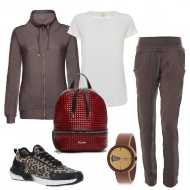 Outfit Sneakers animalier