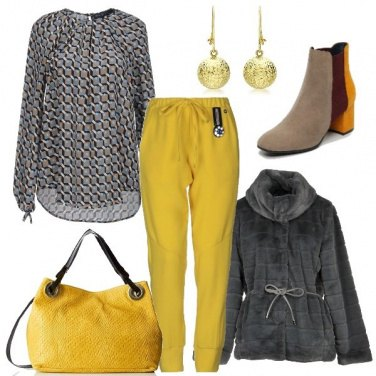 Outfit Passione giallo
