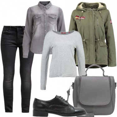 Outfit Occhio all\'ambiente