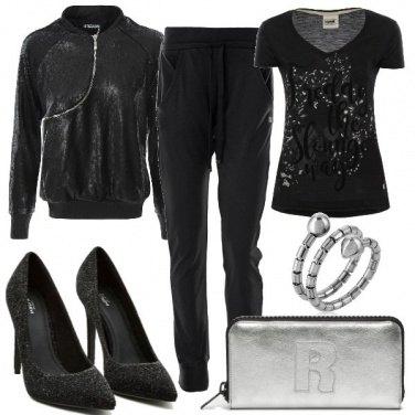 Outfit La tuta glam