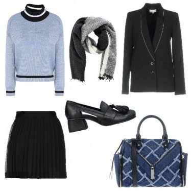 Outfit Stile college
