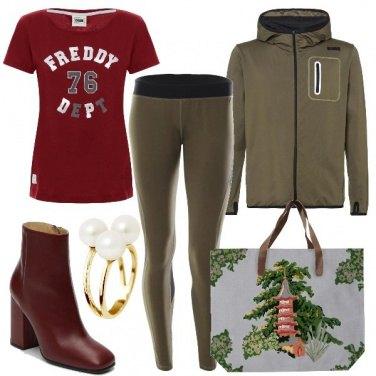 Outfit Shopping prima della palestra