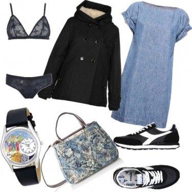 Outfit Sneaker & Denim