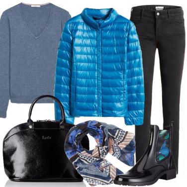 Outfit Esco con la pioggia