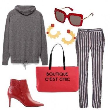 Outfit La felpa in cachemire