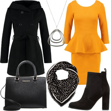 Outfit L\'abito peplum