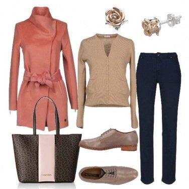 Outfit Stringate e bon ton