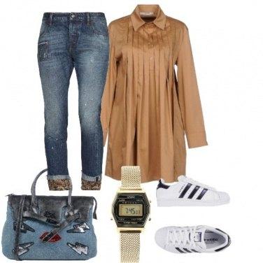 Outfit L\'abito che fa da camicia
