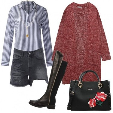 Outfit In shorts per l\'inverno