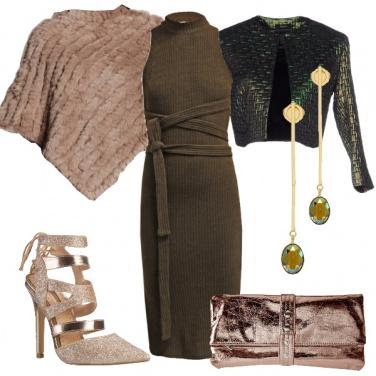 Outfit Verde da sera