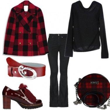 Outfit I quadri rossi