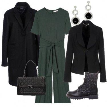 Outfit L'anfibio trapuntato