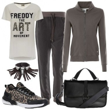 Outfit Un tocco tribale