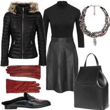 Outfit Fashion con le scarpe flat