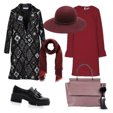 Outfit Pinkrednoir