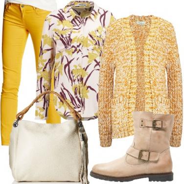 Outfit Un fior di mimosa